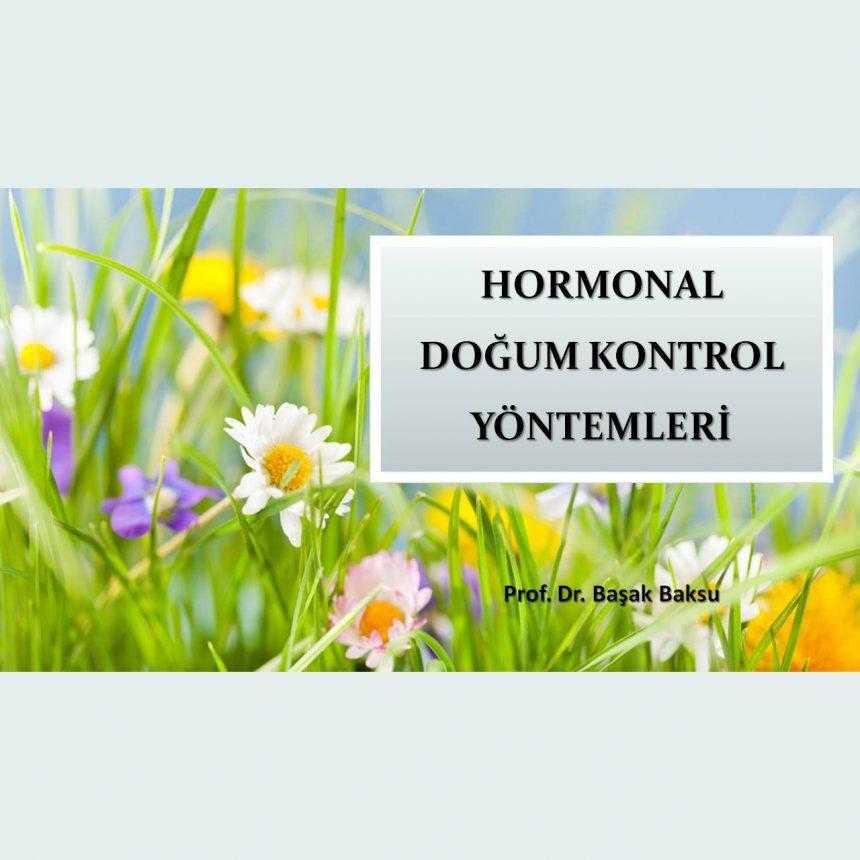 Hormonal Doğum Kontrol Yöntemleri